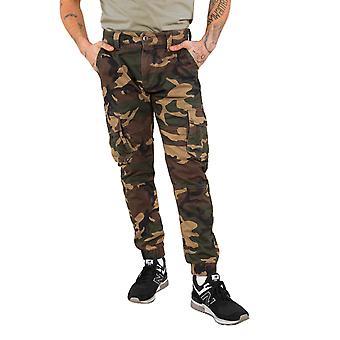 Alpha industries men's cargo pants army