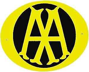 AA (Automobile Association) metal wall sign