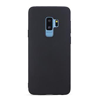 Sort minimalistisk tilfældet for Samsung Galaxy S9 +