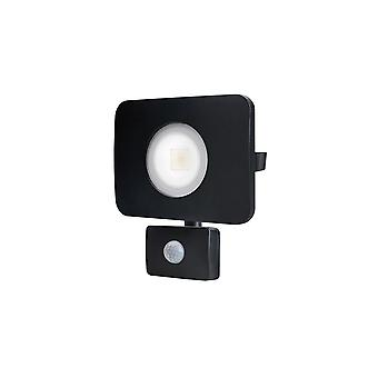 Integral - LED Floodlight 30W 4000K 2700lm PIR Sensor / Override Matt Black - ILFLC035POV