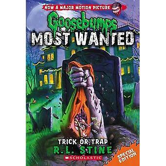 Trick or Trap by R L Stine - 9780545627788 Book