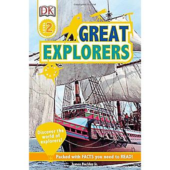 DK Readers L2 - Great Explorers by James Buckley - 9781465469250 Book