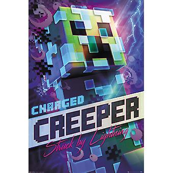 Minecraft cobrado Creeper poster Maxi