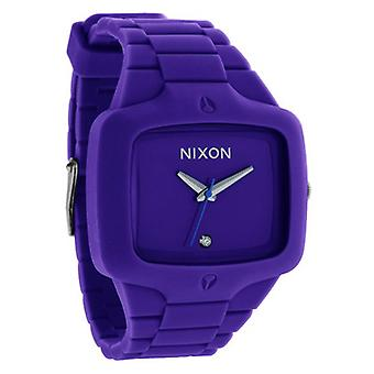 Nixon de Rubber speler Purple Herrenuhr (A139230)