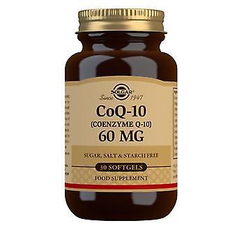 Solgar CoQ-10 60mg Softgels 30 (956)