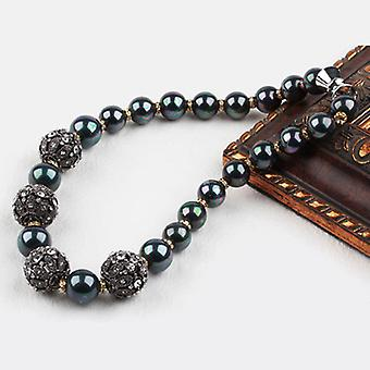 Black Sea Shell Beads Necklace
