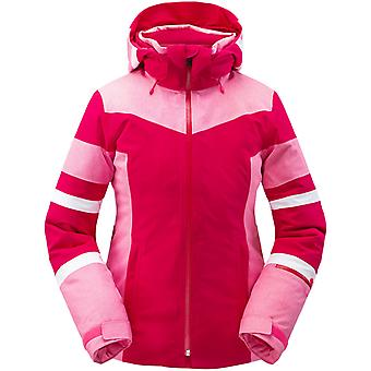Spyder CAPTIVATE Damen Gore-Tex PrimaLoft Ski Jacke pink