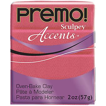 Premo Accents Sculpey Polymer Clay 2oz-Sunset Pearl PE022-5115