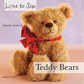 Search Press Books Love To Sew Teddy Bears Sp 10580