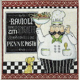 Pasta Chef Counted Cross Stitch Kit-10