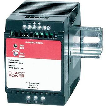 Rail mounted PSU (DIN) TracoPower TPC 080-148 48 Vdc 1.7 A 80 W 1 x
