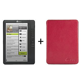Bundle ICARUS Omnia M701BK  (G2) with Perfectfit red cover