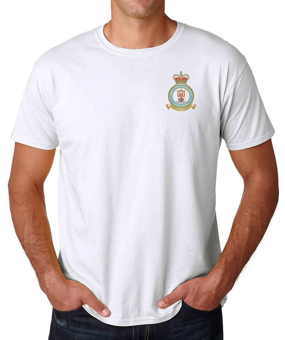 Saxa Vord RAF Station broderad Logo - officiell Royal Air Force ringspunnen T Shirt