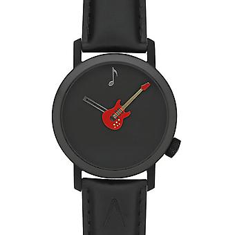 Akteo Black Guitar48 network (3) (Fashion accesories , Watches , Analog)