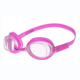 Arena Bubble 3 Junior Swim Goggle - Clear Lens - Fuchsia Frame