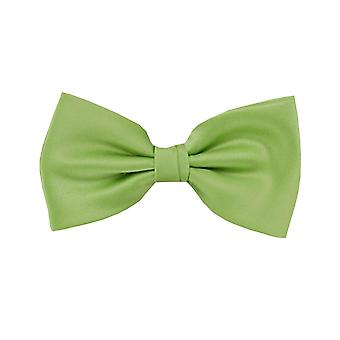 Frédéric Thomass fly loop bow tie tied green polyester clasp