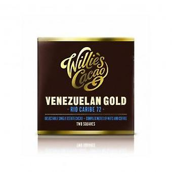 Willies - Venezuelan Rio Caribe Dark 72% Chocolate