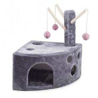 Acticat Wedgy Scratch Post Pink/grey 60cm