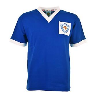 Leicester City 1956-1961 Retro Football Shirt