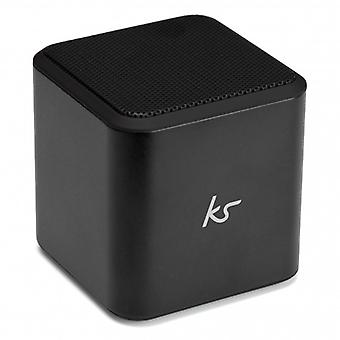 KITSOUND BT Speaker Cube Black