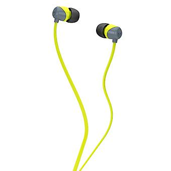 SKULLCANDY Headphone JIB Grey/Lime In-Ear