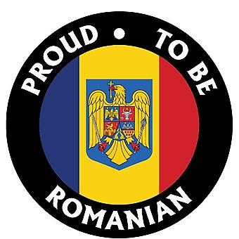 Proud To Be Romanian Car Air Freshener