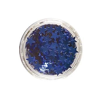 Stargazer Glitter sterren blauw