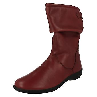 Ladies Padders Calf High Casual Boots Regan