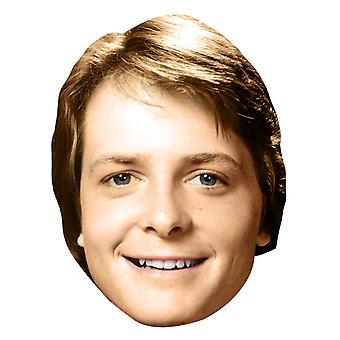 Michael J Fox Young Mask
