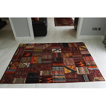 Patchwork Kelim orientalsk tæppe