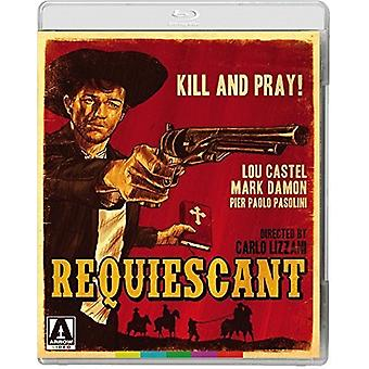Requiescant [Blu-ray] USA importerer