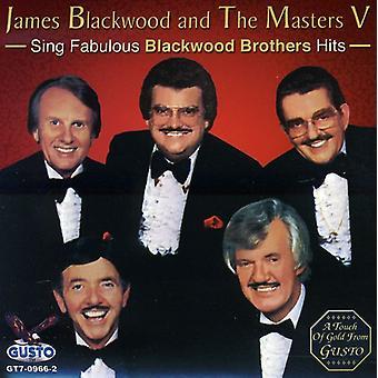 James Blackwood & M - importación de Estados Unidos cantan fabuloso Blackwood Br [CD]