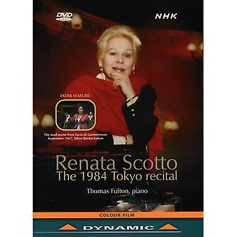 Renata Scotto - 1984 importación de USA de Recital de Tokyo [DVD]