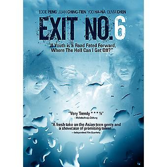 Exit No. 6 [DVD] USA importerer
