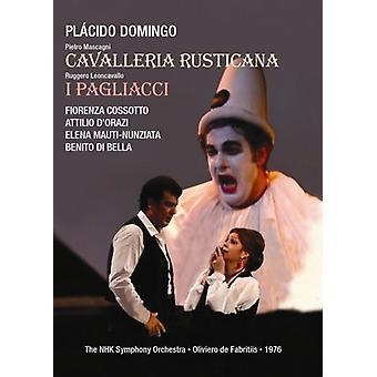 Importación de USA de Cavalleria Rusticana [DVD]