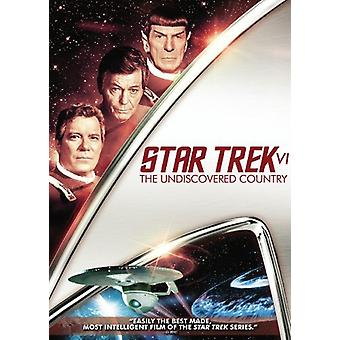 Star Trek 6-Undiscovered Country [DVD] USA import