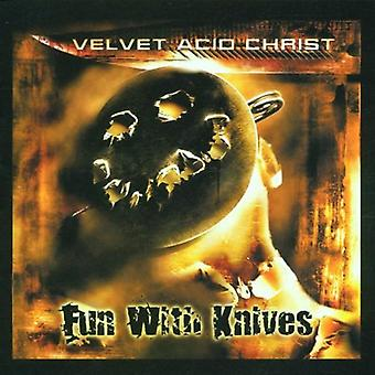Velvet Acid Christ - Fun with Knives [CD] USA import