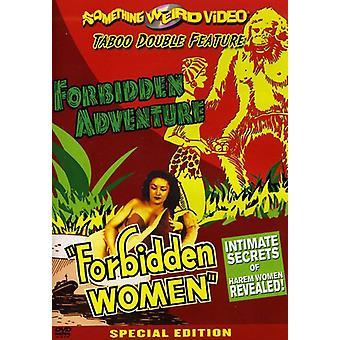 Zaimportować zakazane przygody/zakazane kobiet [DVD] Stany Zjednoczone Ameryki