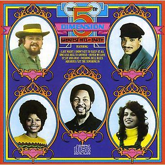 Femte Dimension - Greatest Hits på jorden [CD] USA import