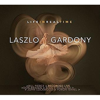Laszlo Gardony - liv i realtid [CD] USA import