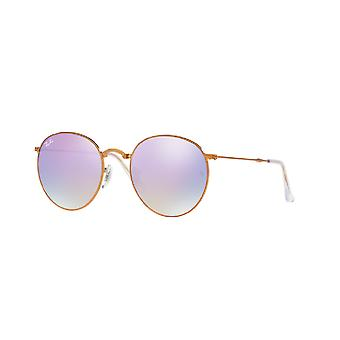 Ray-Ban Round Metal Folding Sunglasses - RB3532-198/7X-50