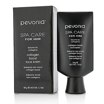 Pevonia Botanica Spa tar hand om honom Collagen Boost Face Balm 50ml/1,7 oz