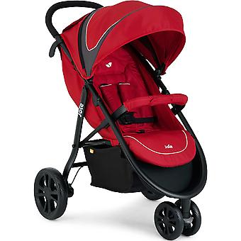 Joie Litetrax 3 Wheeler inc Footmuff Apple