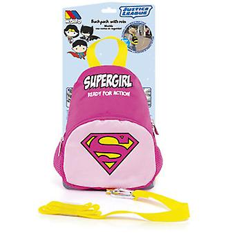 Molto Mochila Con Arnés Supergirl (Toys , School Zone , Backpacks)