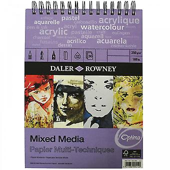 Daler Rowney Mixed Media spiraal Pad - A4