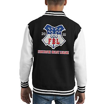 Bestie fantastiche lega Varsity Jacket Logo capretto