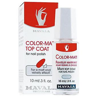 Mavala Mavala Farbe Matt Top Coat (Damen , Make-Up , Nägel , Nagellack)