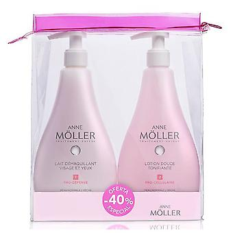 Anne Möller Anne Moller Pack Cleaning Dry Skin + Bag