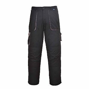 sUw - Texo Workwear Uniform Warm Cotton Rich Contrast Trouser - Lined