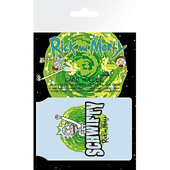 Rick and Morty Schwifty Card Holder
